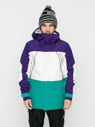 Kurtka snowboardowa Burton Breach Insulated (parachute purple/stout white/dynasty green)