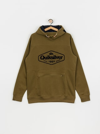 Bluza aktywna Quiksilver Big Logo Tech HD (military olive)