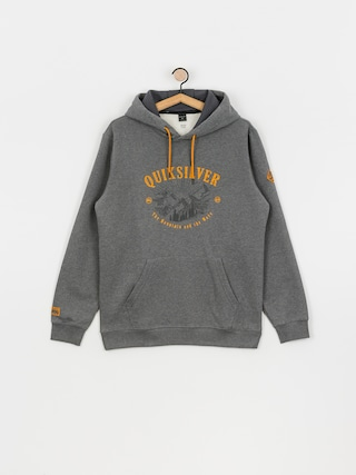 Bluza aktywna Quiksilver Big Logo Snow HD (heather grey)
