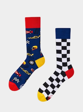 Skarpetki Many Mornings Formula Racing (navy/black/white)