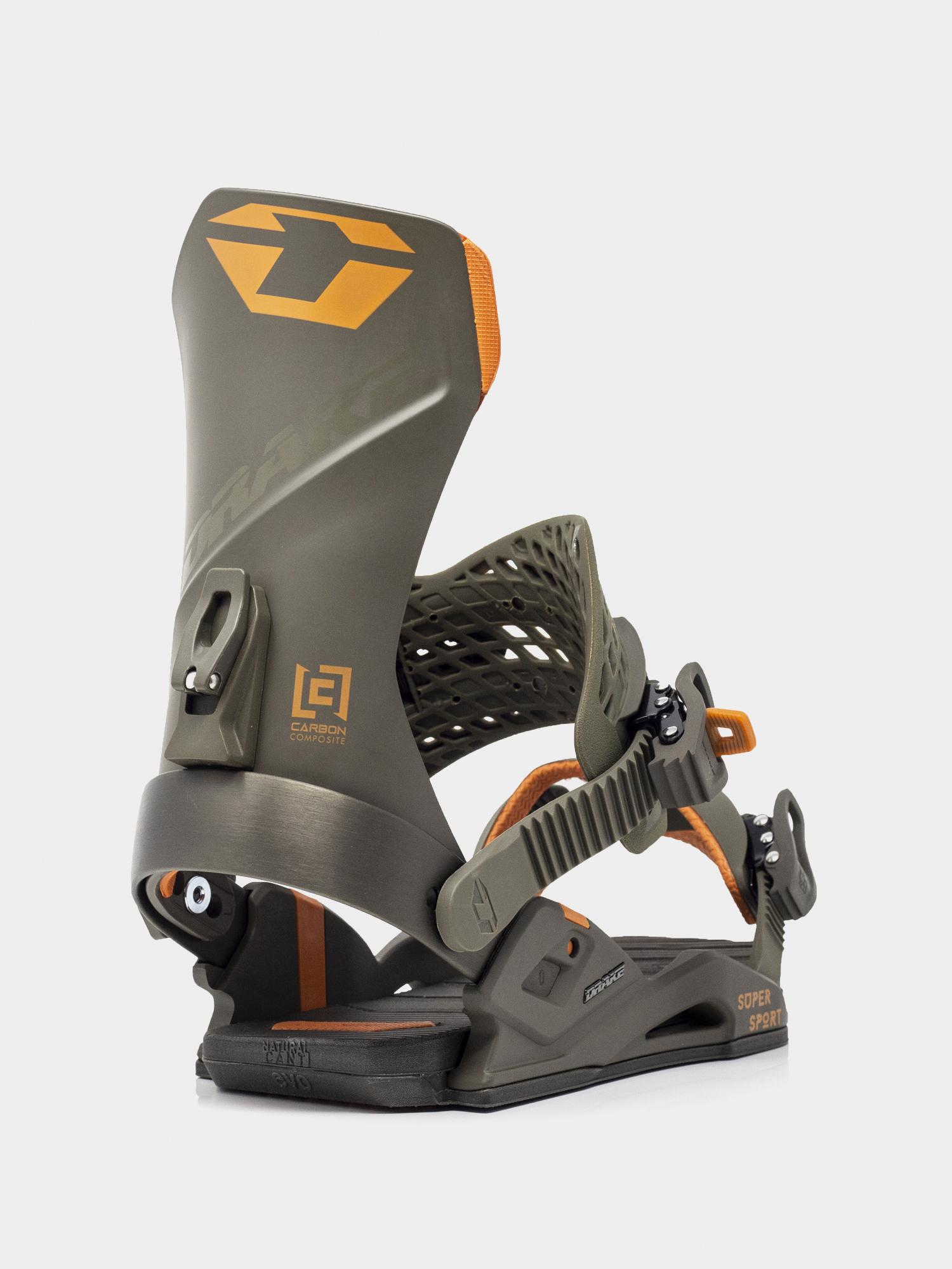 Wiązania snowboardowe Drake Super Sport (dark olive)