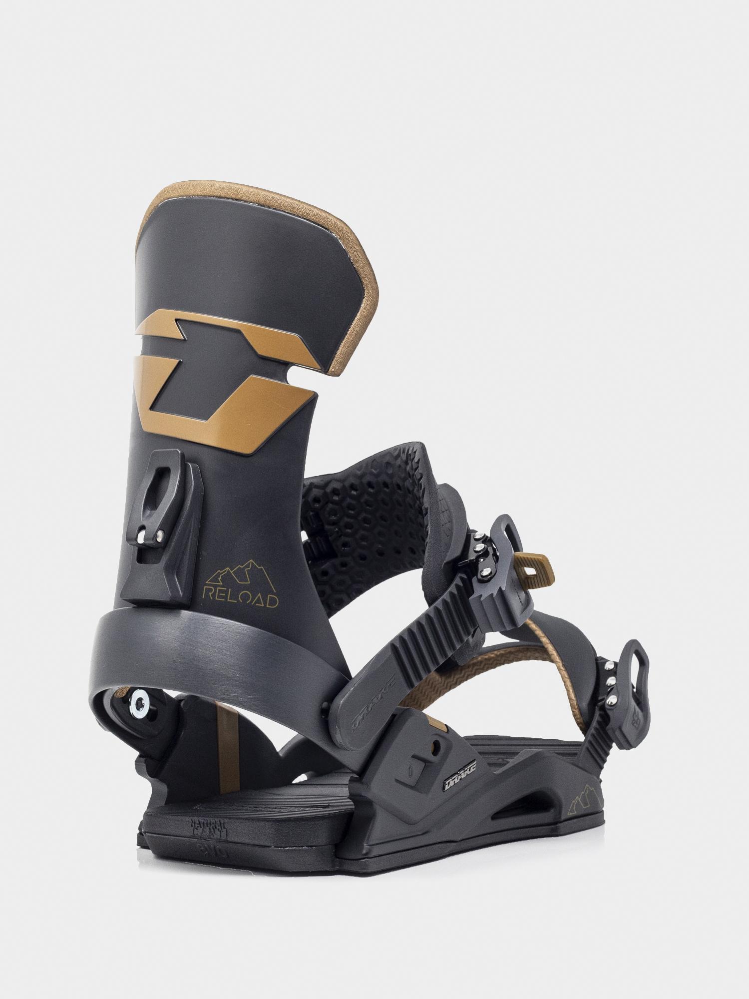 Wiązania snowboardowe Drake Reload (black)