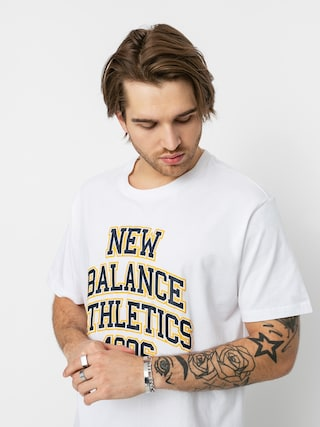 T-shirt New Balance Collegiate Spec (white)