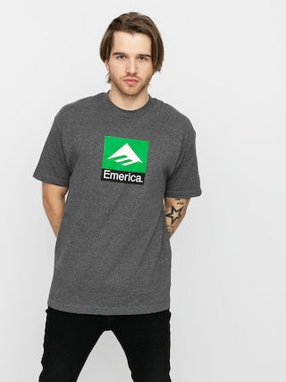 T-shirt Emerica Classic Combo (charcoal/heather)