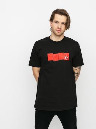 T-shirt eS Block Flag (black)