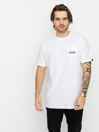T-shirt Emerica Pure Triangle Pocket (white)