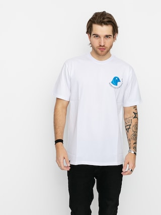 T-shirt Nervous Pighead (white)
