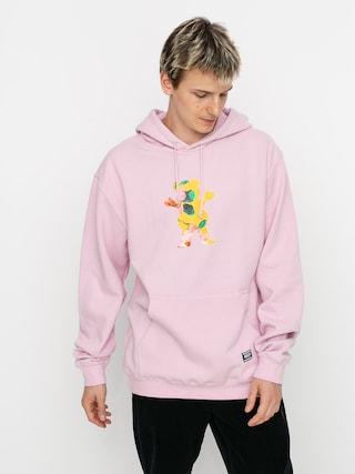 Bluza z kapturem Grizzly Griptape Blossom HD (pink)