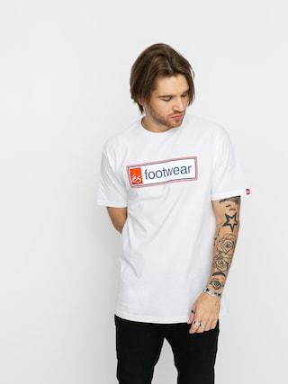 T-shirt eS Framed (white)