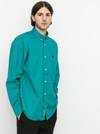 Koszula Carhartt WIP Madison (frosted turquoise/black)