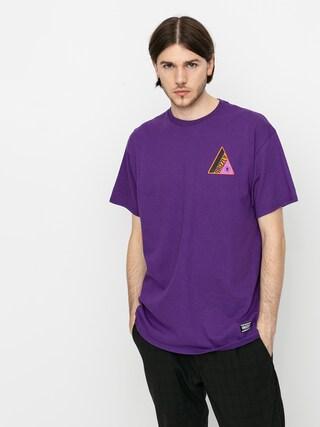 T-shirt Grizzly Griptape World Famous (purple)