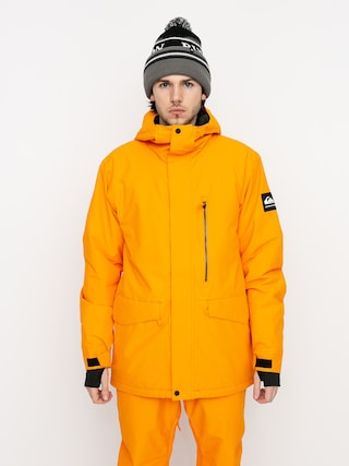 Kurtka snowboardowa Quiksilver Mission Solid (flame orange)