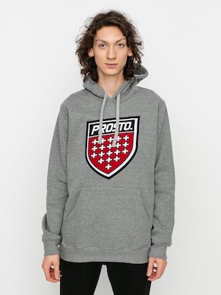 Bluza z kapturem Prosto Prot HD (grey)