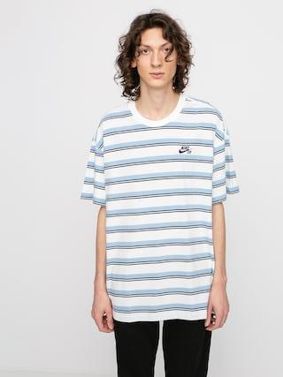 T-shirt Nike SB Stripe (sail/mystic navy)