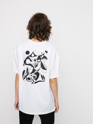 T-shirt Nike SB Artist 2 (white/black)