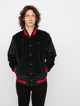 Kurtka Nike SB Corduroy Bomber (black/black/university red/black)