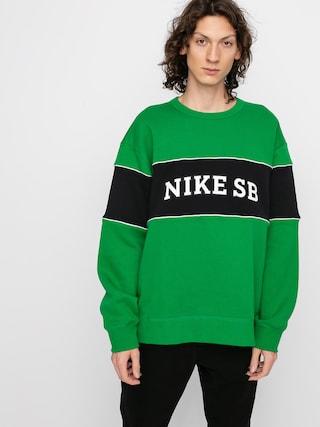 Bluza Nike SB Hbr Crew (lucky green/black/white)