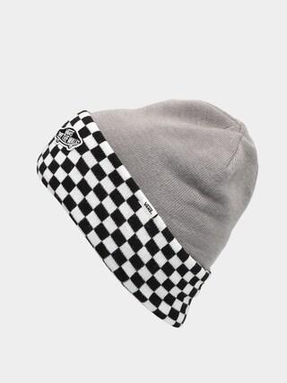 Czapka zimowa Vans Breakin Curfew (heather grey/checkerboard)