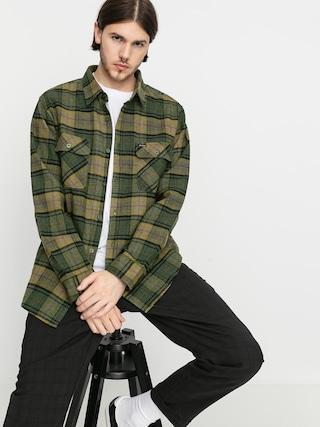 Koszula Brixton Bowery Flannel Ls (evergreen)