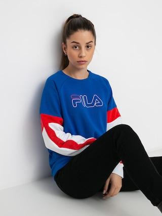 Bluza Fila Laisa Wmn (skydiver/bright white/poppy red)