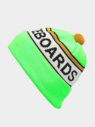 Czapka zimowa Youth Skateboards Stripe (green)