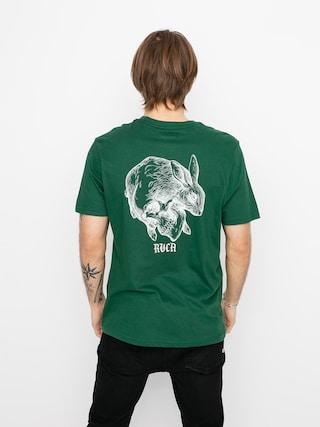 T-shirt RVCA Skull Rabbit (green)
