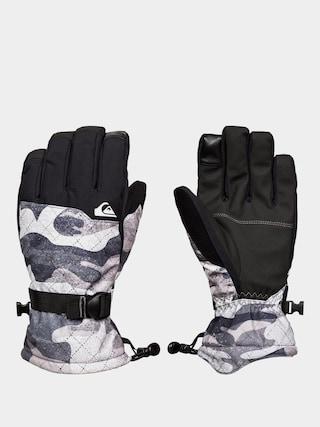 Ru0119kawice Quiksilver Mission Glove (true black gps point)