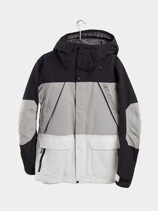 Kurtka snowboardowa Burton Breach Insulated (true black/iron gray/stout white)