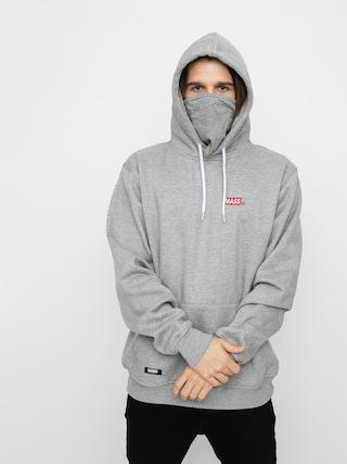 Bluza z kapturem MassDnm Minibox HD (light heather grey)