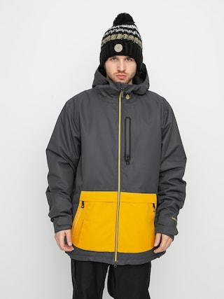 Kurtka snowboardowa Volcom Deadlystones Ins (dark grey)