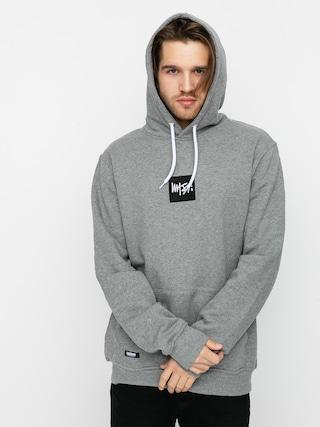 Bluza z kapturem MassDnm Quad HD (light heather grey)