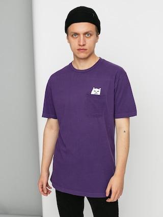 T-shirt RipNDip Lord Nermal Pocket (purple)