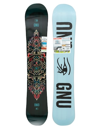 Deska snowboardowa Gnu Ladies Choice Wmn (blue/black)