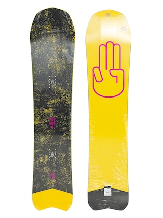 Deska snowboardowa Bataleon Party Wave (yellow/pink/black)