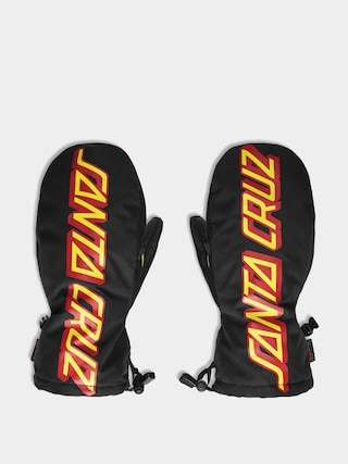 Rękawice ThirtyTwo Santa Cruz Mitt (black/yellow)