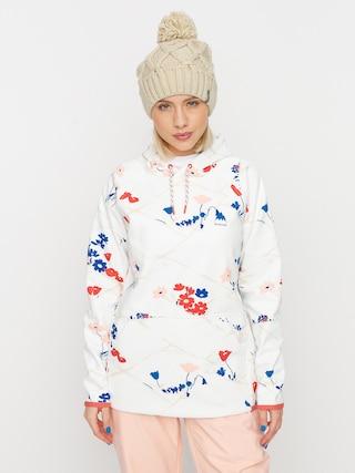 Bluza aktywna Burton Crown Weatherproof HD Wmn (stout white landscape floral)