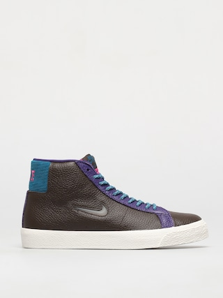 Buty Nike SB Zoom Blazer Mid Premium (baroque brown/white green abyss)