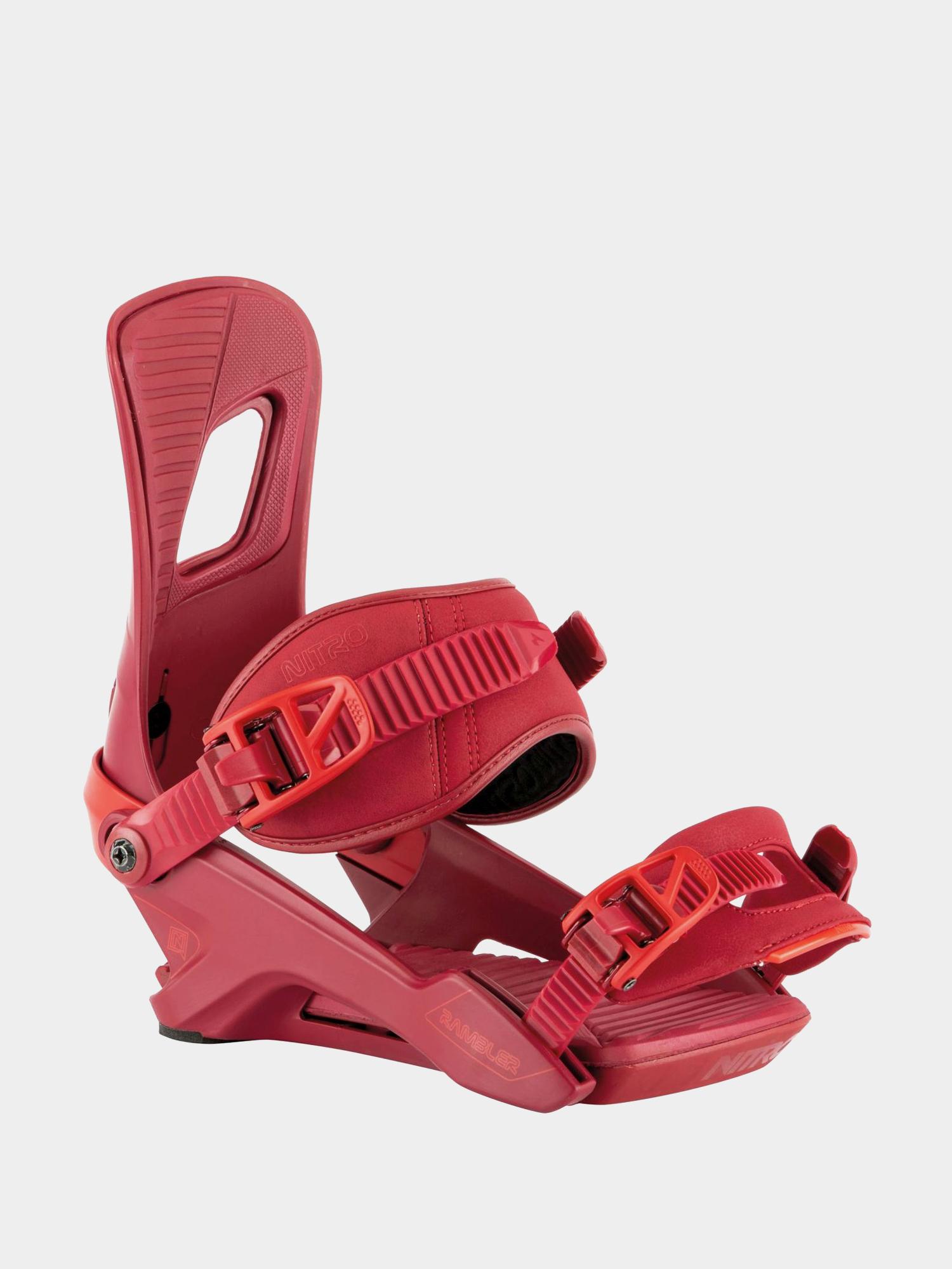 Wiązania snowboardowe Nitro Rambler (velvet pop)