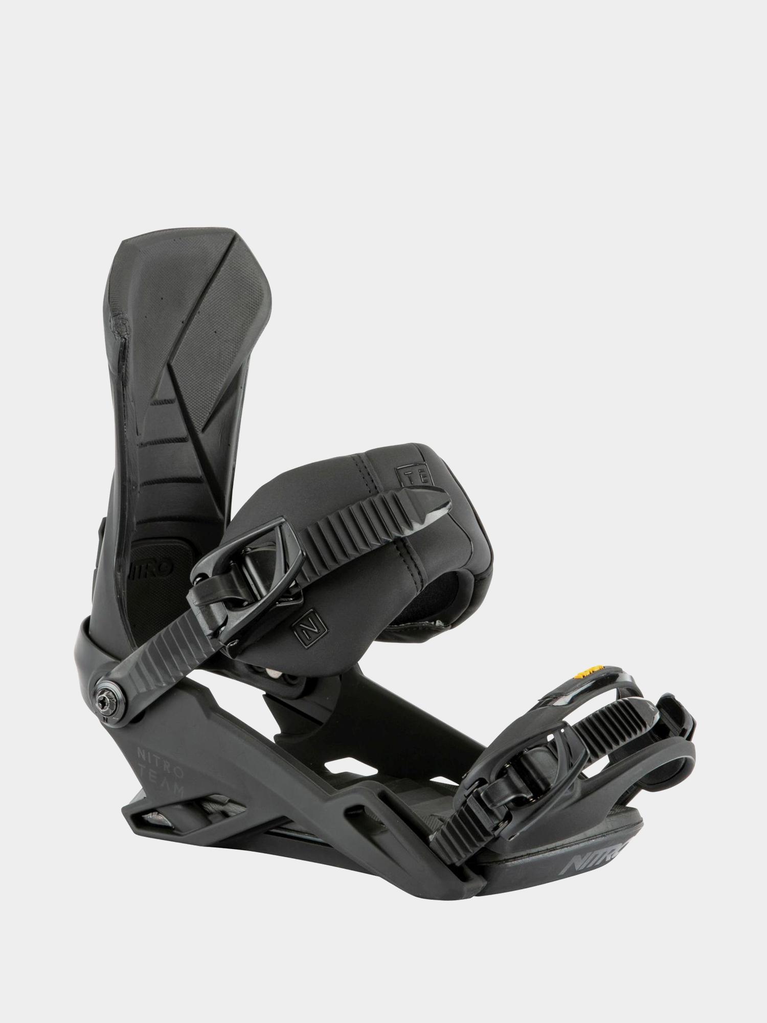 Wiu0105zania snowboardowe Nitro Team (ultra black)