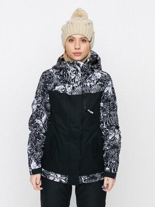 Kurtka snowboardowa Roxy Jetty Block Wmn (true black tiger camo)