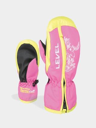 Rękawice Level Dudy Mitt (hot pink)