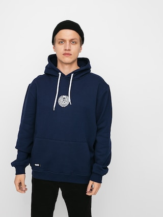 Bluza z kapturem MassDnm Base Small Logo HD (navy)