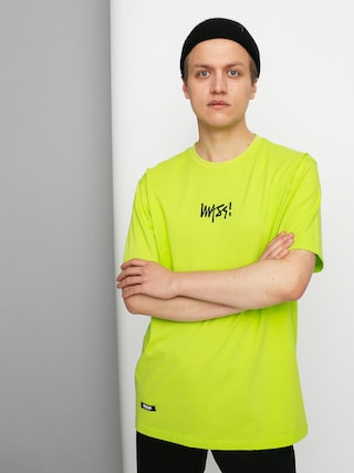 T-shirt MassDnm Signature Small Logo (toxic yellow)