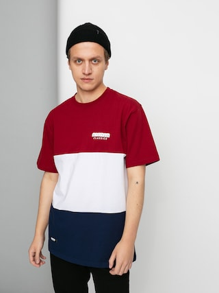 T-shirt MassDnm Zone (claret/navy)