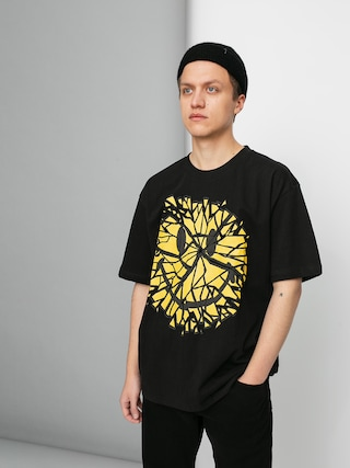 T-shirt Chinatown Market Glass Smiley (black)