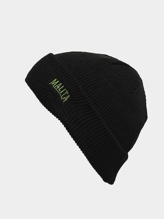 Czapka zimowa Malita Miner (black/green)