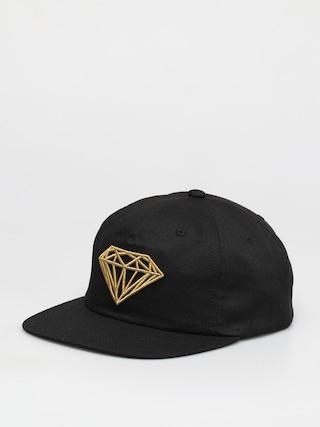 Czapka z daszkiem Diamond Supply Co. Brilliant Unstructured Snapback ZD (black)