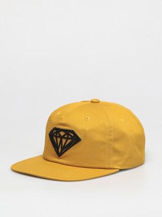 Czapka z daszkiem Diamond Supply Co. Brilliant Unstructured Snapback ZD (mustard)