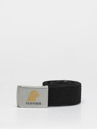 Pasek Nervous Gold Head (silver/black)