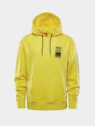 Bluza z kapturem ThirtyTwo Spring Break Repel HD (light yellow)